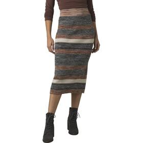 Prana Acadia Falda Mujer, marrón/gris